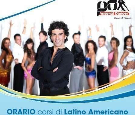 Locandina corsi di Latino Americano