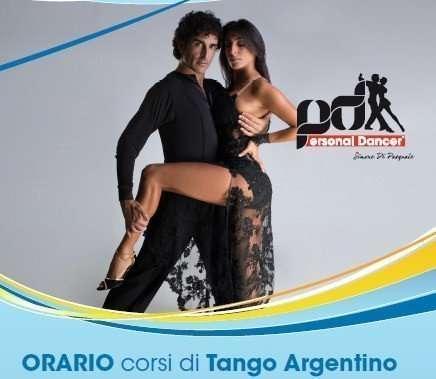 Locandina corsi di Tango Argentino
