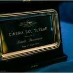 La targa 'Cinema sul Tevere'