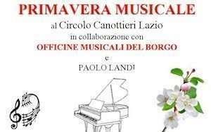 Primavera musicale al Circolo Canottieri Lazio
