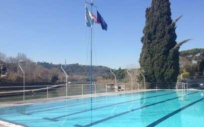 La piscina del Circolo Canottieri Lazio