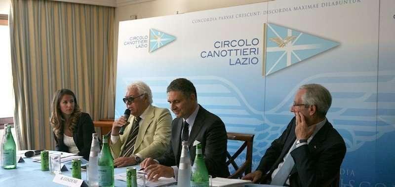 Conferenza stampa Coppa dei Canottieri 2014