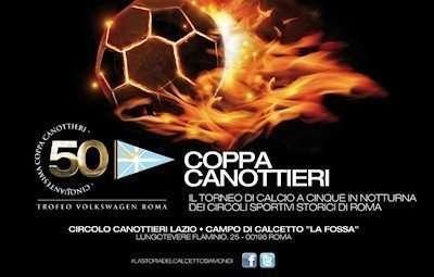 Locandina della Coppa Canottieri 2014