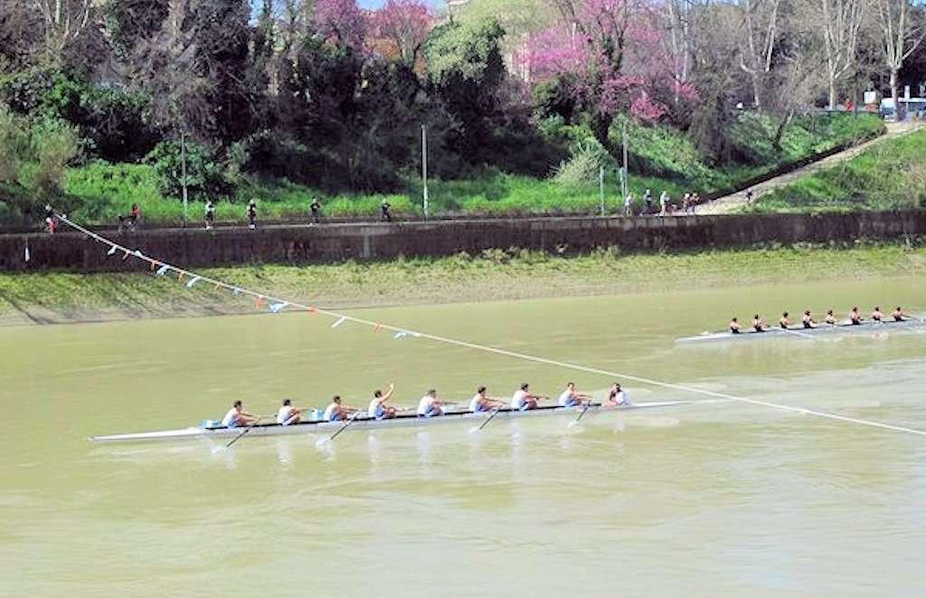 Derby di Canottaggio al Circolo Canottieri Lazio