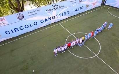 Screenshot del video partita inaugurale Coppa dei Canottieri 2014