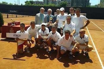 Nazionale di Tennis over 45