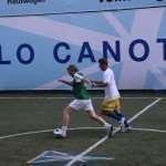 Boniek in azione durante la Cinquantesima Coppa dei Canottieri