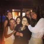 La consocia Diletta Maria Grisanti festeggia il compleanno dell'amica Caterina Bellucci Sessa con un aperitivo a bordo piscina insieme ad amici e parenti