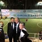 Giovanni Malagò e Raffaele Condemi durante la Coppa dei Canottieri 2014