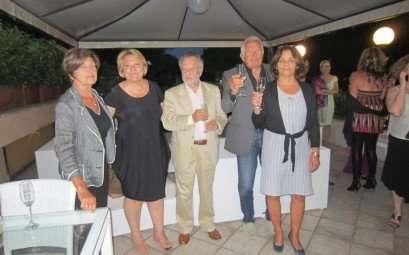 Premiazione torneo di burraco al Circolo Canottieri Lazio