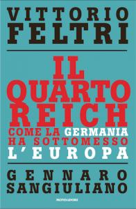 Copertina del libro Il quarto reich di Vittorio Sgarbi e Gennaro Sangiuliano