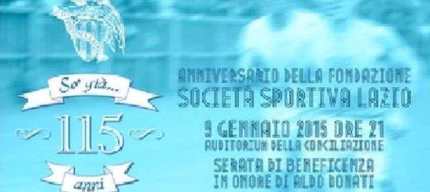 115° anniversario Società Sportiva Lazio