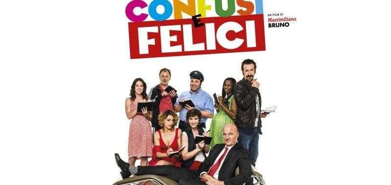 Locandina del film Confusi e Felici di Massimiliano Bruno
