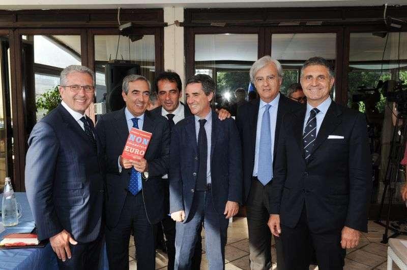 Presentazione del libro di Angelo Polimeno al Circolo Canottieri Lazio