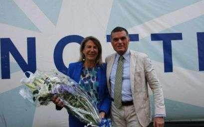 La Vicepresidente Donatella Visconti e il Segretario Salvatore Bartoli