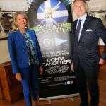 Il Presidente Raffaele Condemi insieme a Donatella Visconti Vice Presidente Circolo Canottieri Lazio