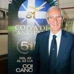 Arturo Turi, recordman del Torneo con 51 presenze su 51 edizioni della Coppa Canottieri