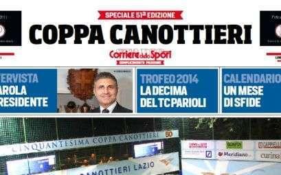 Speciale Corriere dello Sport sulla Coppa Canottieri 2015