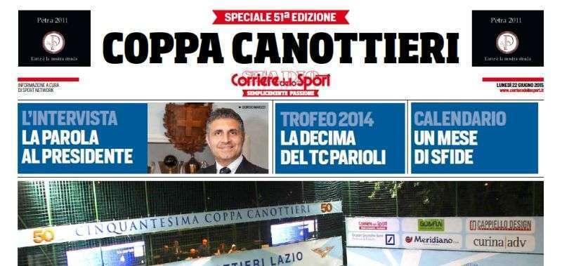 Corriere Dello Sport Calendario.Speciale Corriere Dello Sport Sulla 51ma Coppa Canottieri