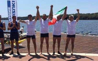 Campionati italiani master canottaggio di Sabaudia