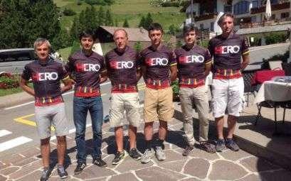 La squadra del CCLazio alla Sellaronda Hero 2015