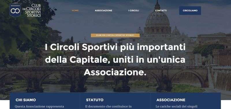 Sito web del Club dei Circoli Sportivi Storici