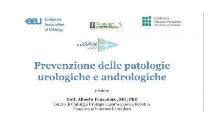 Conferenza dedicata all'Urologia al CCLazio