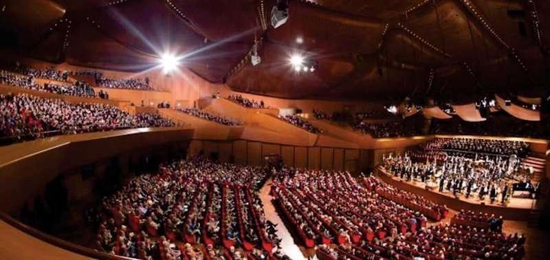 13 ottobre presentazione della stagione musicale dell for Auditorium parco della musica sala santa cecilia