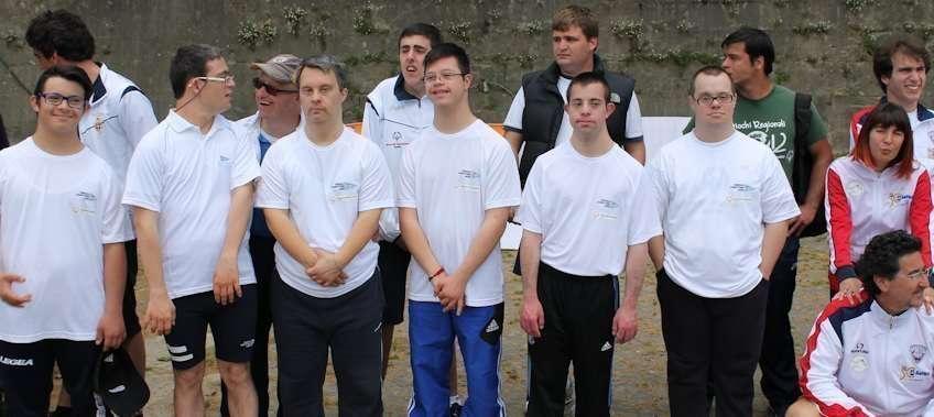 Gli atleti Special Olympics del Circolo Canottieri Lazio