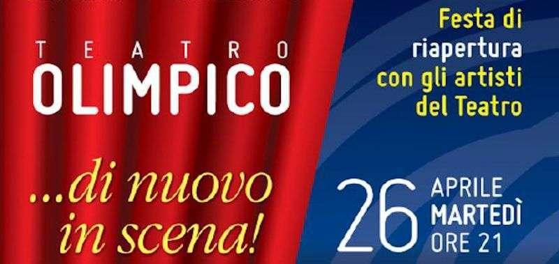 festa di riapertura del Teatro Olimpico