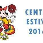 Centri Estivi 2016 al CCLazio