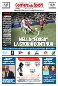 Copertina dello Speciale del Corriere dello Sport sulla Coppa dei Canottieri 2016