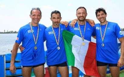Il CCLazio ai Campionati Italiani Master di canottaggio