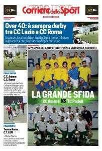 Speciale del Corriere dello Sport sulle Finali della Coppa dei Canottieri 2016 di calcio a 5