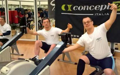 Atleti Special Olympics del Circolo Canottieri Lazio