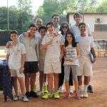 Festa di fine corso Tennis al Circolo Canottieri Lazio