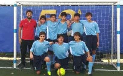 La squadra di calcio a 5 Giovanissimi del Circolo Canottieri Lazio