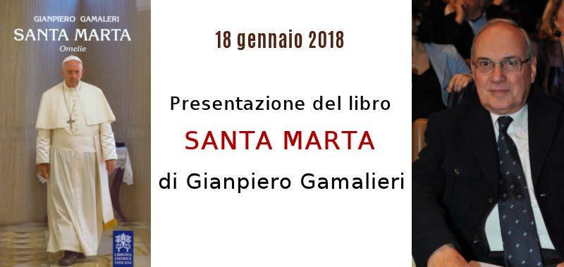 """Presentazione del libro """"Santa Marta"""" di Gianpiero Gamaleri al Circolo Canottieri Lazio"""