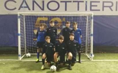Squadra di calcio a 5 giovanissimi del Circolo Canottieri Lazio