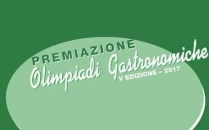 Premiazione Olimpiadi Gastronomiche 2017 presso il Circolo Canottieri Lazio