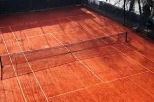 I campi da tennis del Circolo Canottieri Lazio