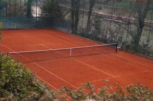 Campi da tennis al Circolo Canottieri Lazio