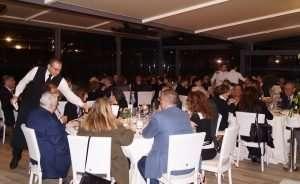 Serata gastronomica al Circolo Canottieri Lazio