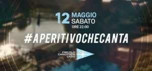 Aperitivo che canta al Circolo Canottieri Lazio