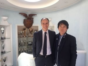 Visita della delegazione Mizuno presso il Circolo Canottieri Lazio