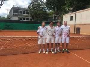 Finalisti della Coppa Davis 2018 di tennis del Circolo Canottieri Lazio