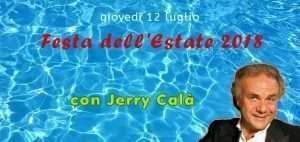 Festa dell'Estate 2018 al Circolo Canottieri Lazio con Jerry Calà