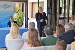 Conferenza stampa di presentazione del videoclip dedicato a Silvio Piola presso il Circolo Canottieri Lazio
