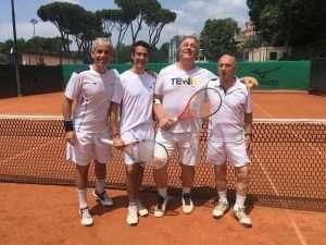 Finale della Coppa Davis 2018 di tennis del Circolo Canottieri Lazio
