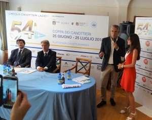 Conferenza stampa di presentazione della Coppa dei Canottieri 2018 di calcio a 5